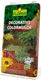 FLORIA Decor. ColorMulch hnědá 70 l