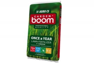 Garden Boom Once a Year 25-05-08+3MgO 15kg